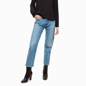 Citizens of Humanity Liv Straight Crop Jeans